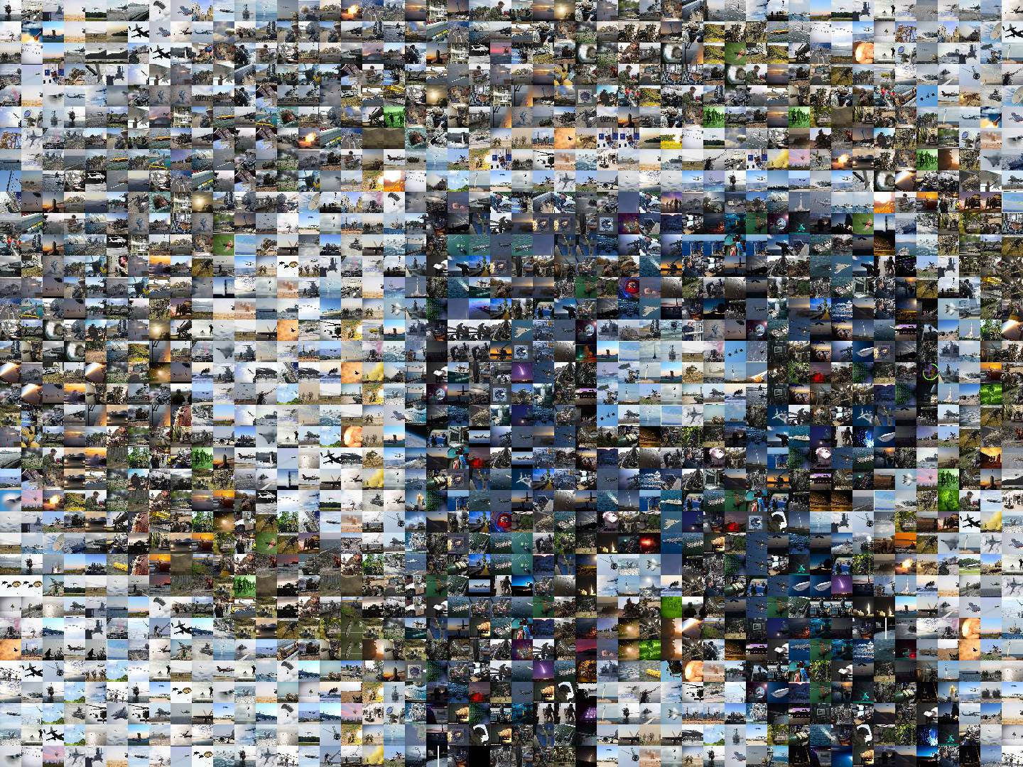 Photo Mosaics in R
