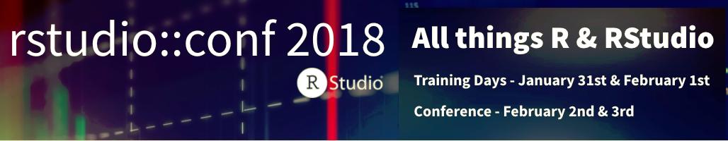 RStudio::Conf 2018