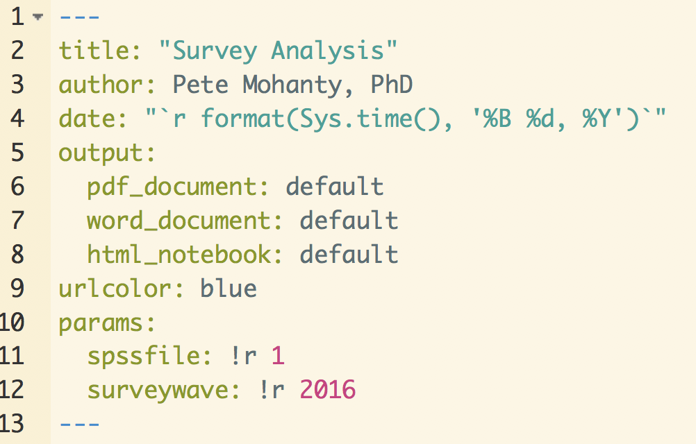 Automating Summary of Surveys with RMarkdown | R-bloggers